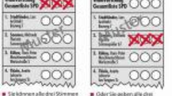 Bespiel:Erläuterung zum Wahlverfahren (1)